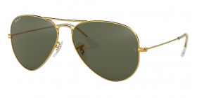AVIATOR LARGE METAL RB3025 001/58 POLARIZED