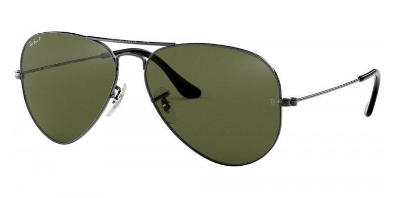 RB3025 AVIATOR LARGE METAL 004/58 POLARIZED