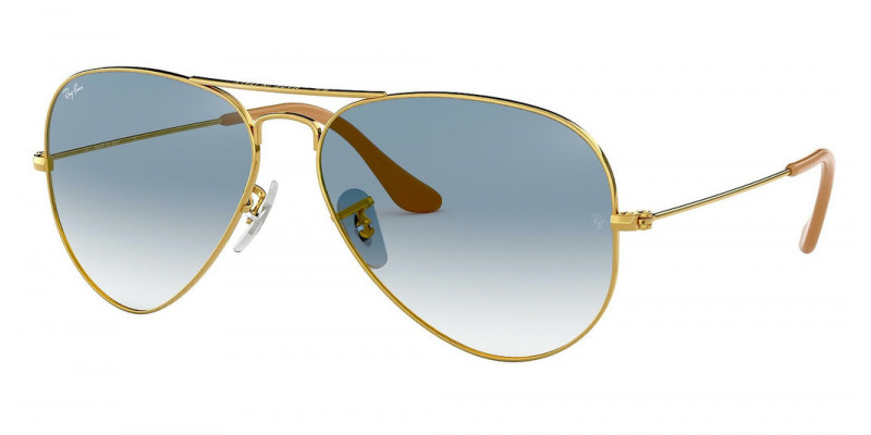 RB3025 AVIATOR LARGE METAL 001/3F