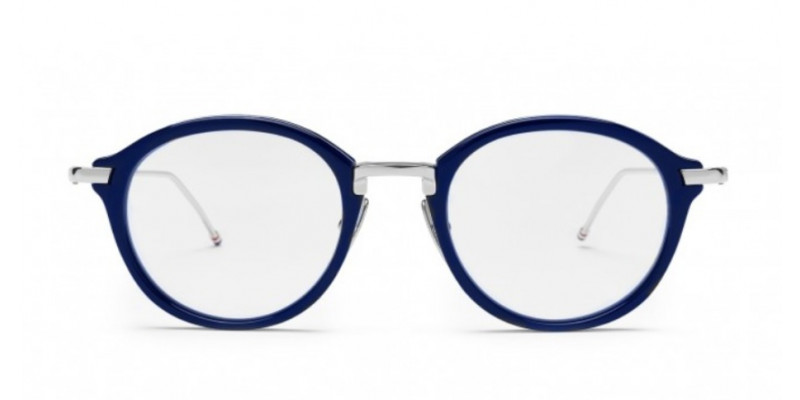 THOM BROWNE TB 011 NVY/SLV optical
