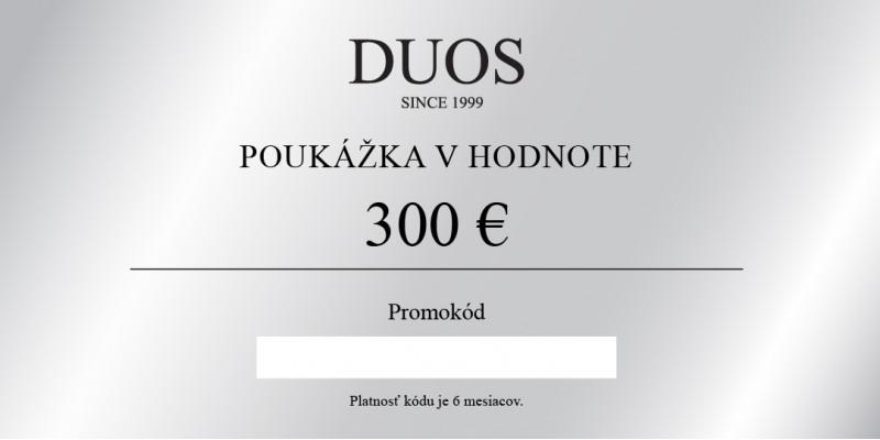 Digitálna darčeková poukážka 300€